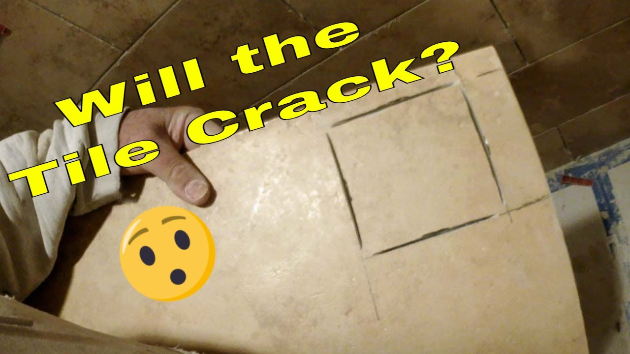 tile keep cracking when cutting