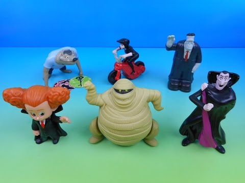 2015 HOTEL TRANSYLVANIA 2 SET OF 6 McDONALD'S HAPPY MEAL KIDS MOVIE TOYS VIDEO REVIEW: ???SUBSCRIBE TO FASTFOODTOYREVIEWS: http://bit.ly/SUBFFTR ???THE ONE AND ONLY