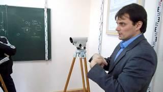 Работа с нивелиром Н-3К(Рассматриваются основы работы с оптическим нивелиром. Нивелир сравнивается с теодолитом. Объясняется..., 2014-03-25T20:15:27.000Z)
