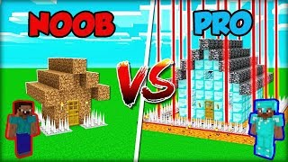MINECRAFT NOOB VS PRO: HOUSE SECURITY!