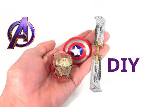 3 Mini Avengers Endgame Items You Can Create At Home (DIY)