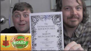 Beer and Board Games - The Drunk Adventures of Baron Munchausen