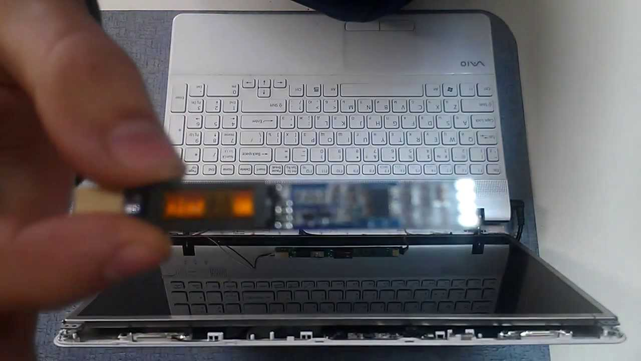 Ремонт подсветки ноутбука своими руками