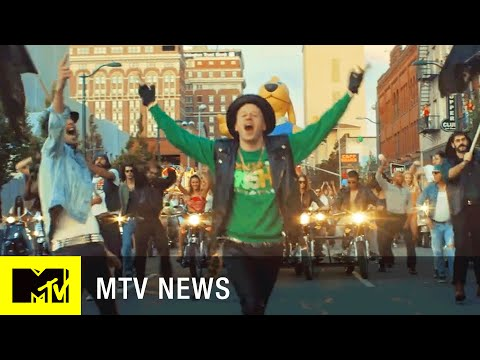 Macklemore Reveals How Ken Griffey Jr. Ended Up in Their 'Downtown' Music Video | MTV News