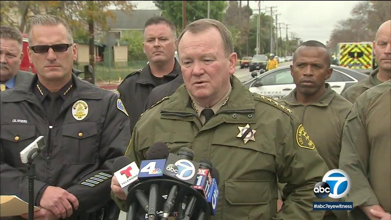 Pomona Officer Killed, Suspect Arrest Ends 15 Hr Standoff