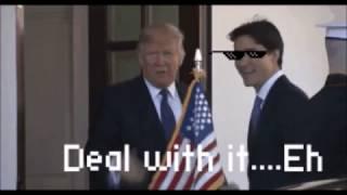 Trudeau ready for Trump's handshake