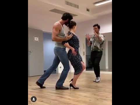 Download Michele Morrone dancing tango with Anna Maria Sieklucka! ❤️   365 days bts tango dance  