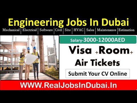 Engineering Jobs In Dubai, Abu Dhabi , Sharjah – UAE 2020