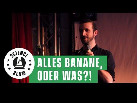 Warum billige Bananen hungrig machen (Christian Benninghaus Science Slam)