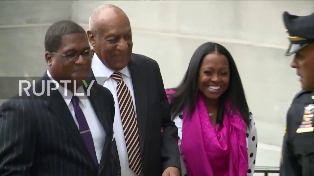 Bill Cosby Arrives for First Day of Sexual Assault Trial Without Wife