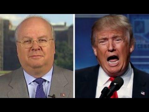 Rove scolds Trump for firing back at Republican defectors