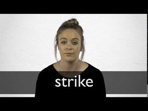 O que significa strike em portugues