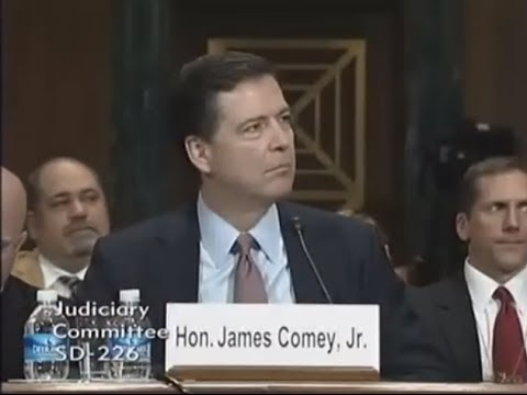 Sen. Cruz Questions FBI Director James Comey on IRS Investigation