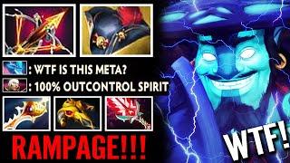 WTF Ballista + Pirate Hat STORM? RAMPAGE!!! 100% OutControl Spirit WTF Meta Epic Dota 2 Pro Gameplay