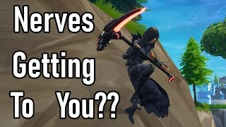How to stop the Nervousness from getting to you! - Fortnite BR