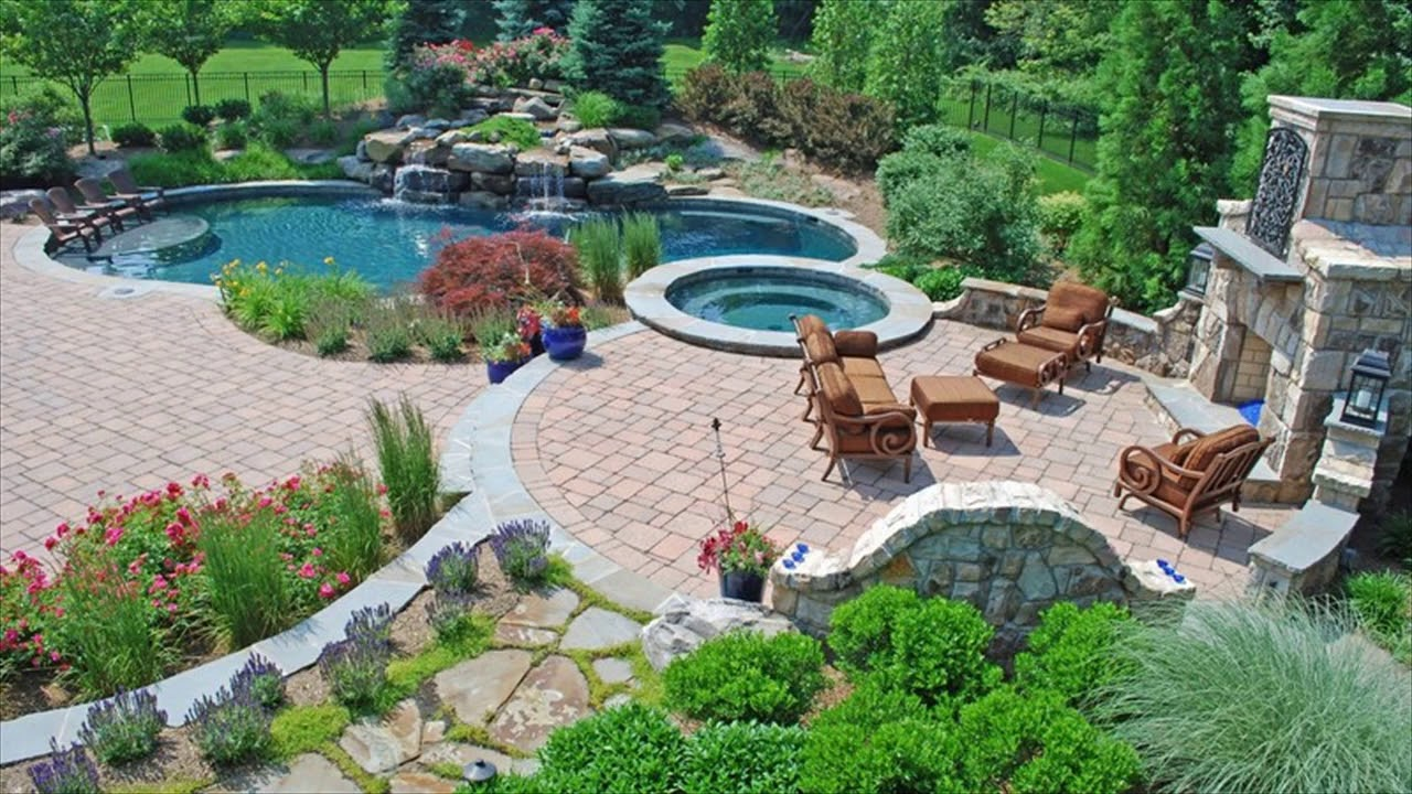 Backyard desert landscaping ideas on a budget youtube - Backyard pool ideas on a budget ...