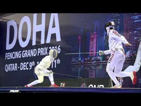 Grand Prix Doha - Finale Kweon / Bardenet