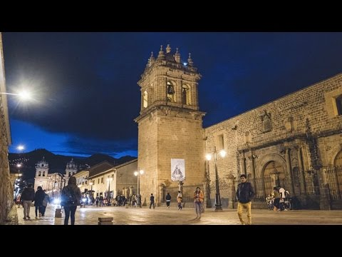 Cusco Plaza de Armas Timelapse /City of cusco - Peru