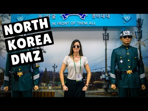 4 MINUTES IN NORTH KOREA | DMZ Full Experience