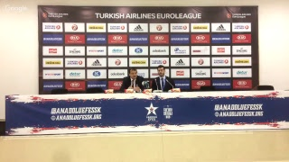 Anadolu Efes - Fenerbahçe Doğuş Basın Toplantısı