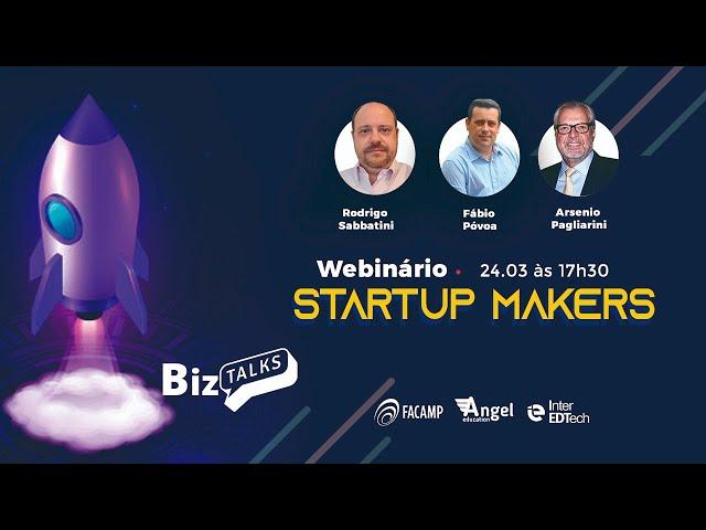 Webinário Startup Maker