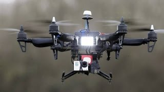 """Less Than Lethal"" Drones for Police Legalized"