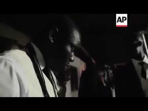 Африканские танцы с гробом