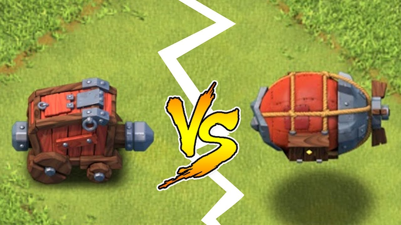 "WALL WRECKER vs. BATTLE BLIMP!! ""Clash of clans"" NEW UPDATE!!"