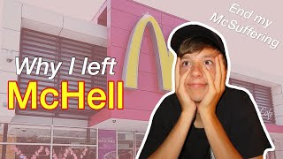 Why I QUIT McDonald's - STORYTIME + McDonald's Horror Stories