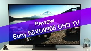 Sony 55DX9305 XD93 UHD HDR TV review