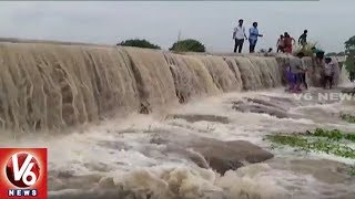 Special Story On Nanajipuram Waterfalls In Shamshabad | V6 News