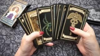 Edge Blacking Madame Endora's Fortune Cards