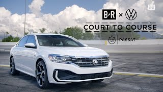 homepage tile video photo for The Passat Feat. Landry Shamet | Court to Course Challenge