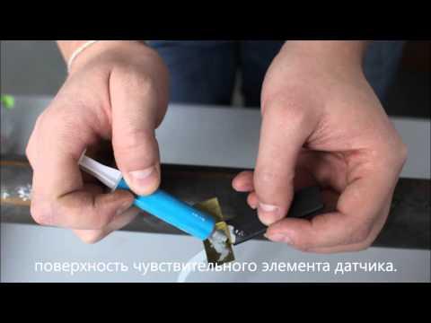 Установка датчика температуры на трубы «подачи» и «обратки»
