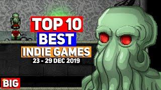 Top 10 BEST Indie Game Releases: 23 - 29 Dec 2019 (Upcoming Indie Games)   Regions of Ruin & more!