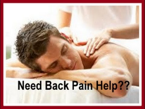 Back Pain-Do you need Back Pain Relief Fayetteville,Lumberton,Fairmont,Rowland,Red Springs NC