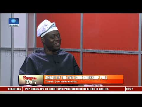 Oyo PDP Gov'ship Candidate Outlines Manifesto Ahead Of Poll Pt.1 |Sunrise Daily|