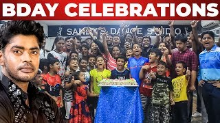 Sandy Master Massive Birthday Celebration At his Studio | BIGG BOSS 3 | SANDY Master