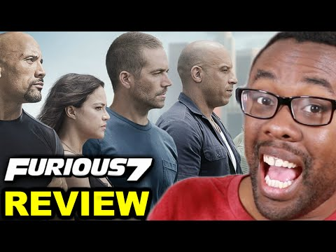 FURIOUS 7 is a SUPERHERO MOVIE (Review) : Black Nerd