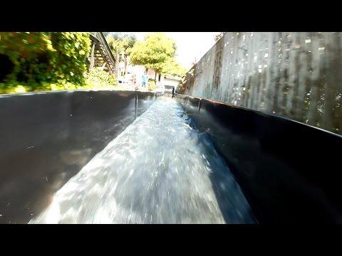 Western Park Magaluf - Huracan Drop Slide (Black Hole) Onride POV