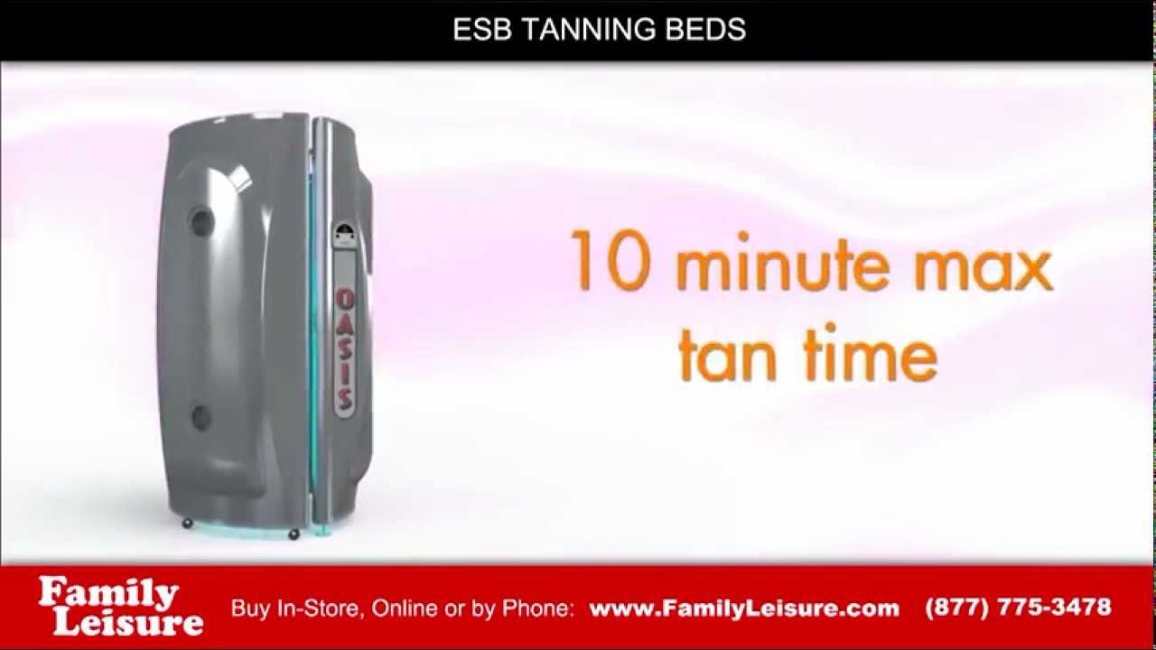 ESB Stand Up Tanning Bed, Oasis 36 | Family Leisure