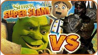 Shrek Super Slam Game Part 6 (Gamecube, PC, PS2, XBOX) Pinocchio VS Black Knight