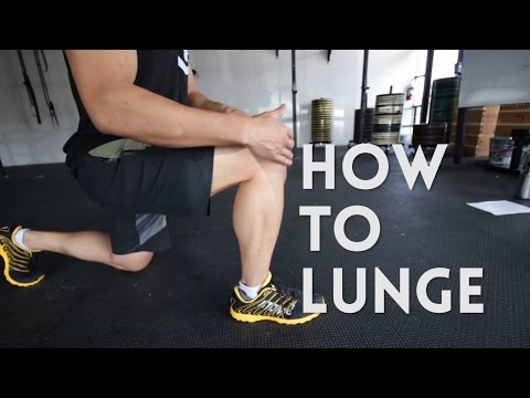Lunge Tutorial: How To Perform the Walking Lunge