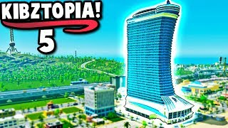 ENTERTAINMENT DISTRICT + New Amusement Park! | Cities Skylines Lets Play Ep.5 (2019, All DLC)