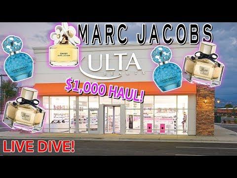 BIG ULTA PAYOUT! $1,000+ PERFUME HAUL! GUCCI | MARC JACOBS | DUMPSTER DIVE!