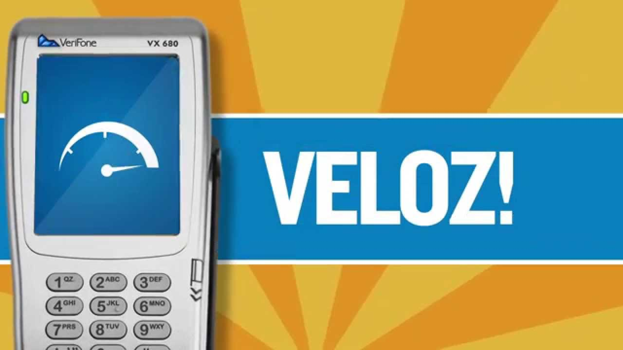 Verifone - VX680 Portuguese by bluemarblemedia