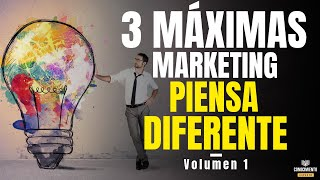 3 MAXIMAS MARKETING DE CONTENIDOS Y PERSONAL BRANDING (Emprendedor Eficaz y Negocios Digitales)