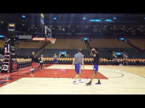 Brandon Ingram working out with Jud Buechler
