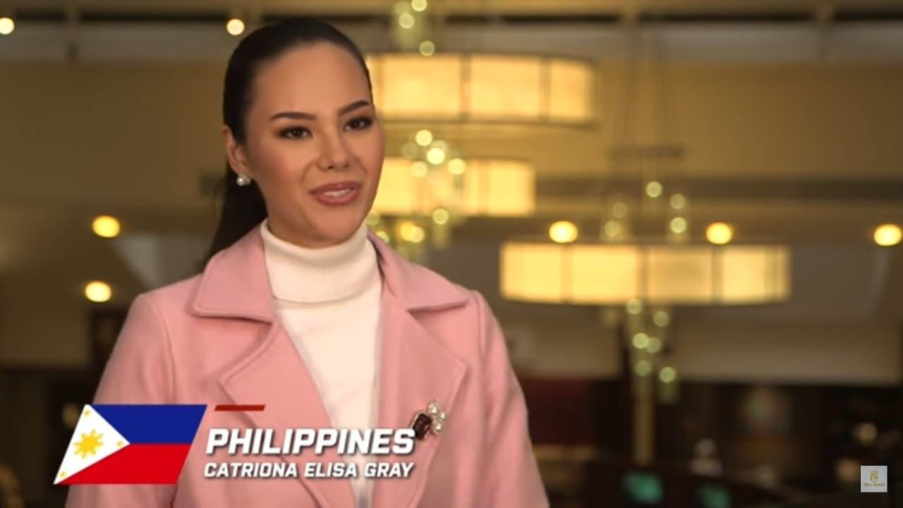 Philippines, Catriona Elisa Gray - Contestant Profile: Miss World 2016