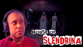 ( GAMEPLAY ) HOUSE OF SLENDRINA - O QUE É QUE EU VIM FAZER AQUI ? / JOGOS DE TERROR PARA ANDROID